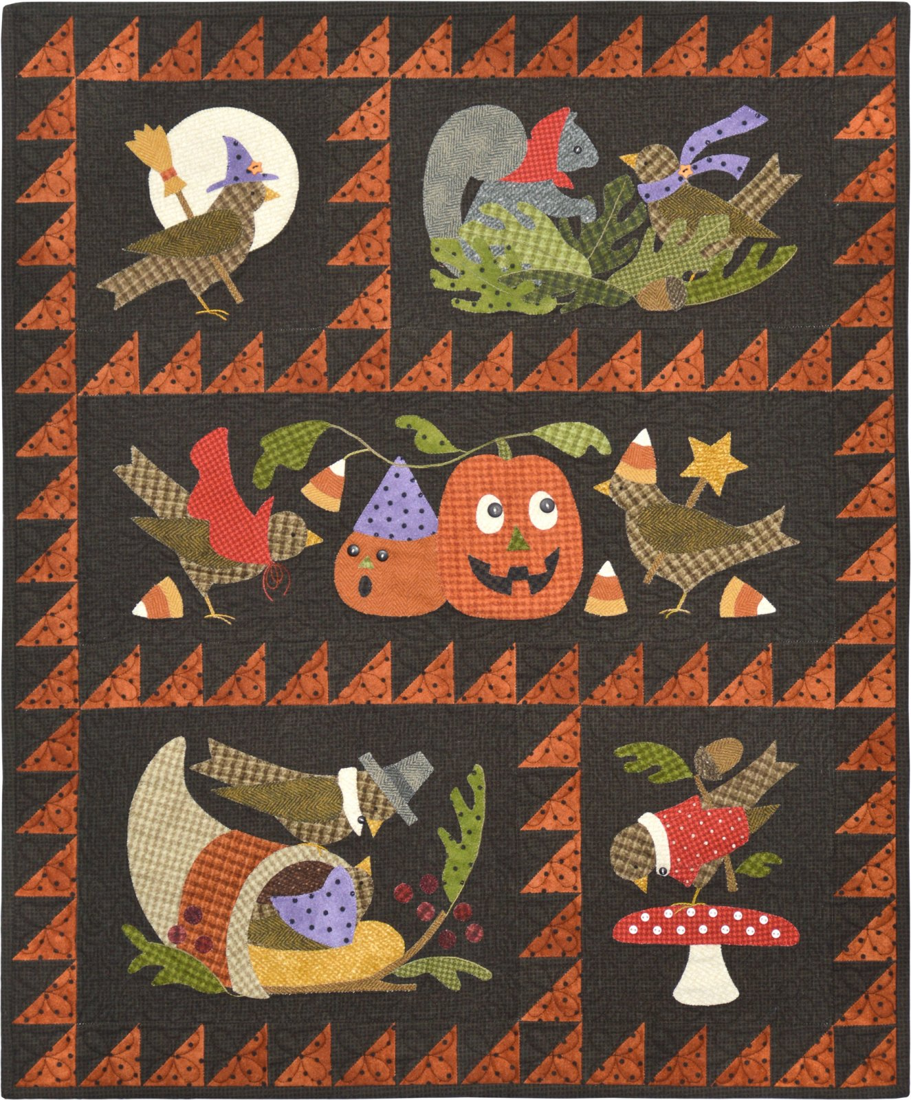 Bertie's Autumn quilt kit
