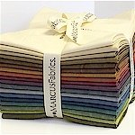 Aged Muslin Fat Quarter Bundle (18skus)