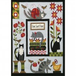 Purrfectly Pieced Quilt Kit