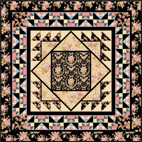 Crown of Roses Pattern