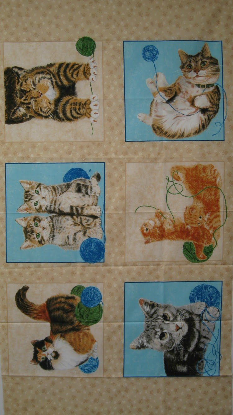 Where's the cat? by Exclusively Quilters