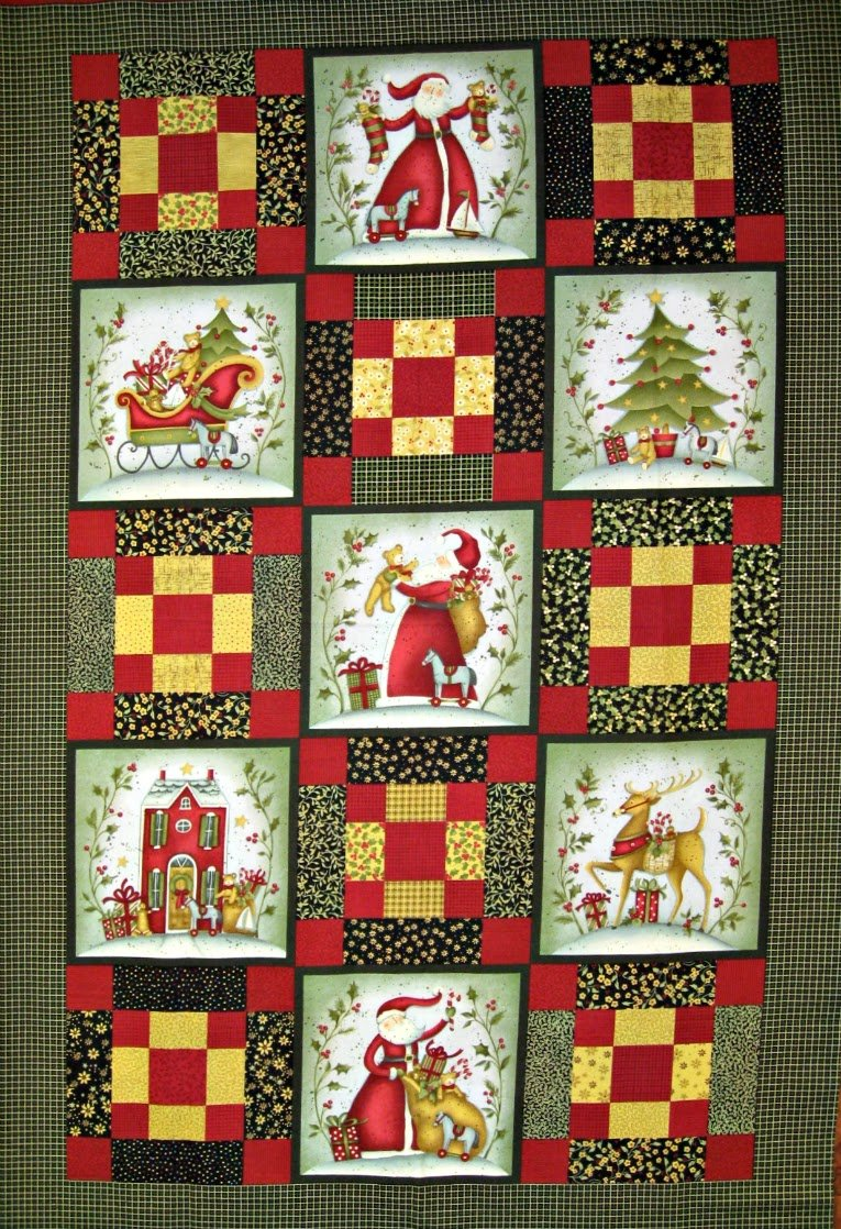 Winter Bliss Quilt Panel By Sharla Fults