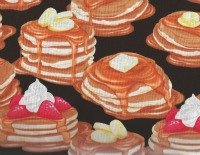 Breakfast Club by Maria Kalinowski for Kanvas of Benartex