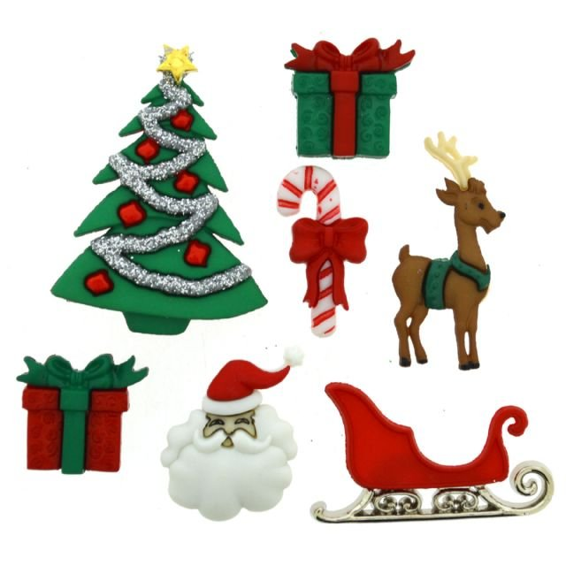 Christmas Eve Button Pack