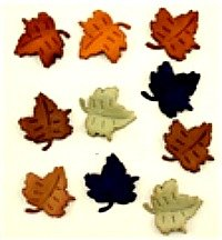 Falling Leaves Buttons
