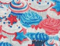 Celebrate Cupcakes by Maria Kalinowski for Canvas of Benartex