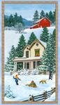 Multi Bringing Home Christmas Panel