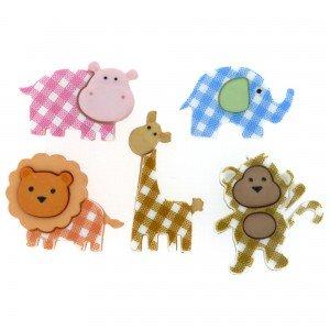 Baby Safari Buttons