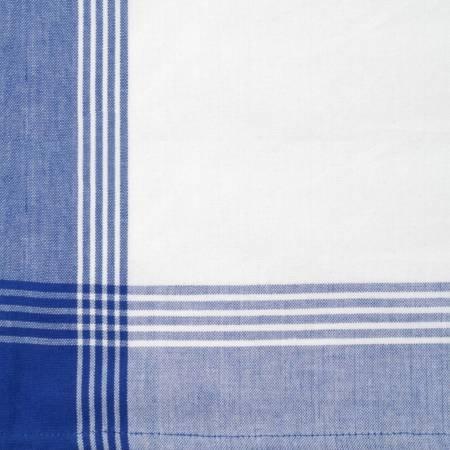 Tea Towel McLeod No Stripe Blue with White
