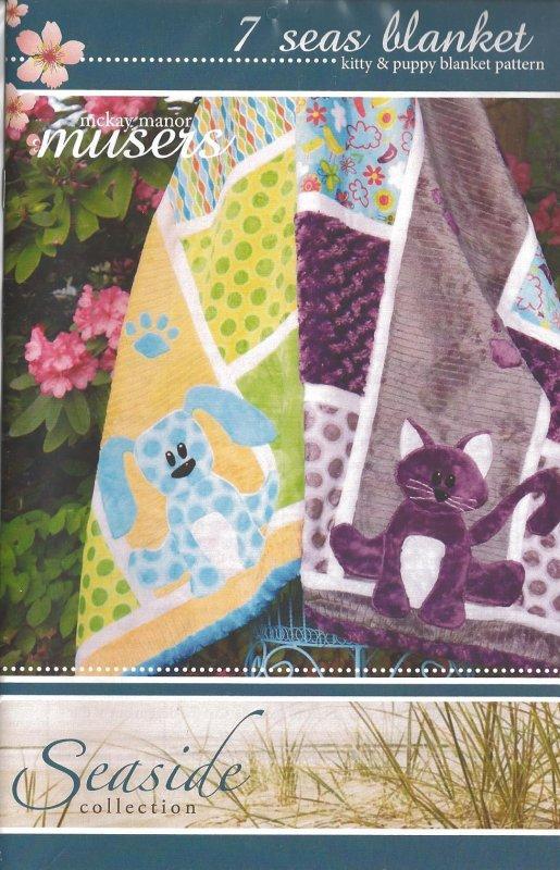 7 Seas Blanket Kitty & Puppy Blanket Pattern