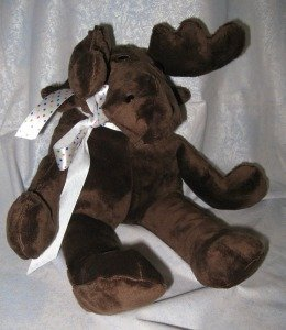 Carol's Zoo Moose Kit, Brown Dimple. Pattern Not Included