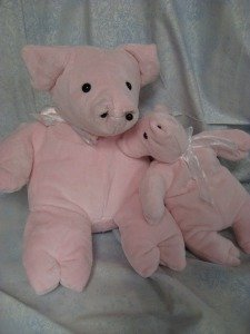 Carol's Zoo Pig Kit Light Pink (pattern not included)