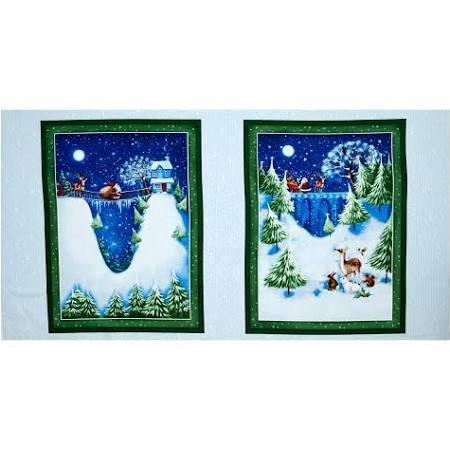Christmas Villiage Panel