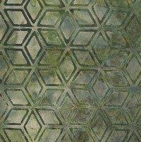 Java Batik, Green Diamonds, Galaxy