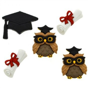 Graduation Button Pack by Dress It Up
