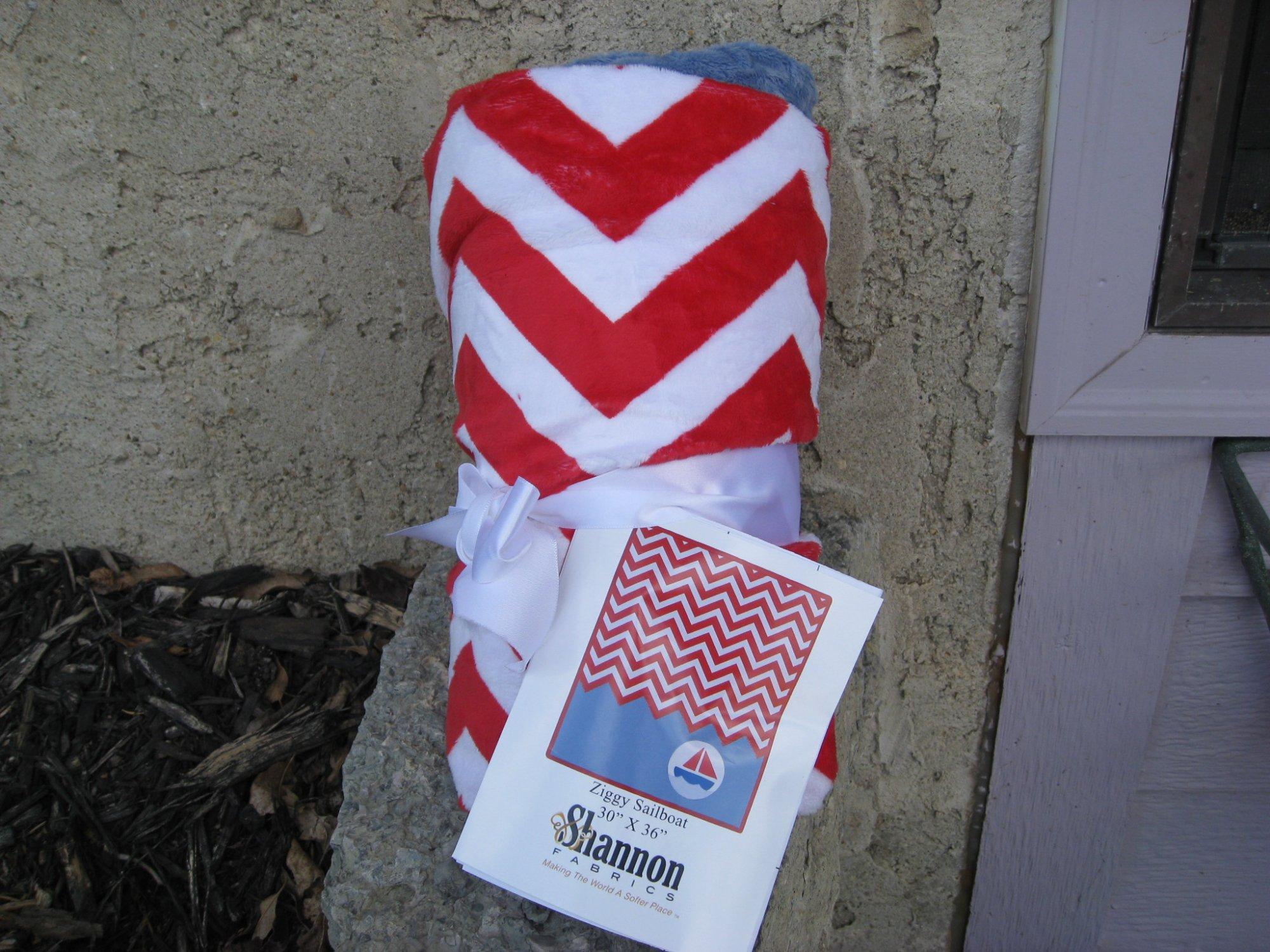 Ziggy Sailboat Baby Quilt Kit