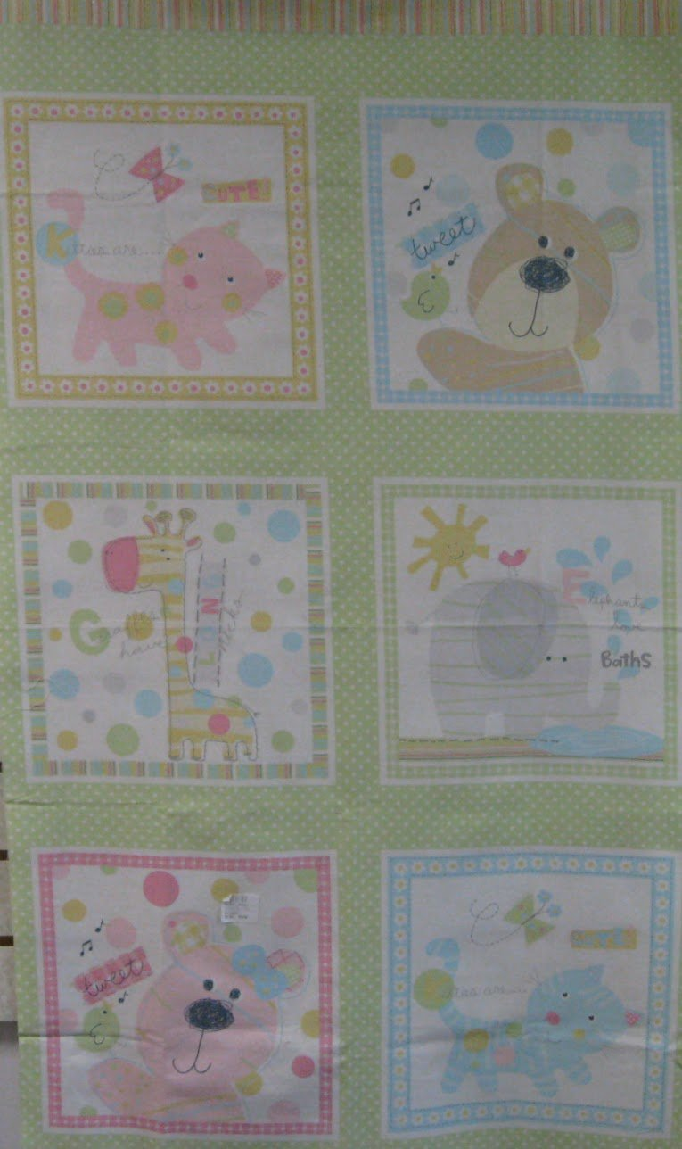 Simply Baby Quilt Panel