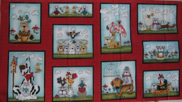 No Foul Play Quilt Panel- Leanne Anderson