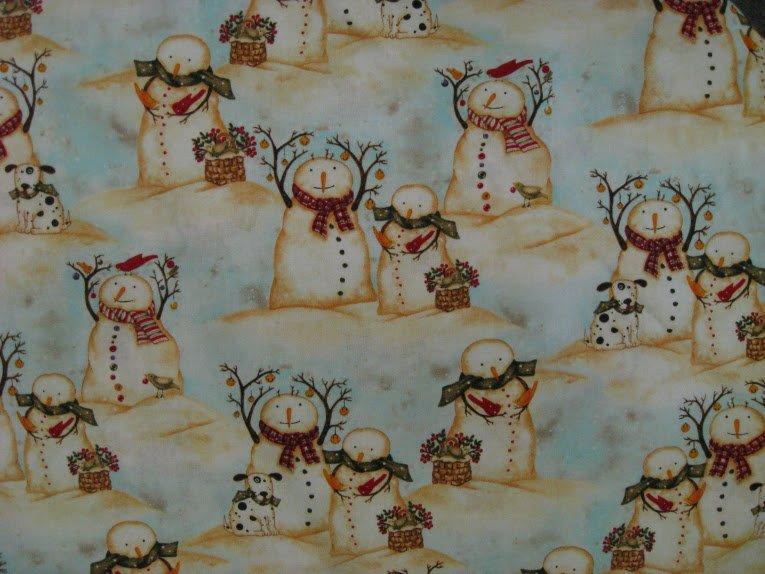 More Holiday Spirit Snowman By Debi Hron