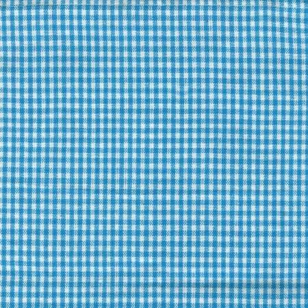 Tea Towel Mini Check Turquios/White