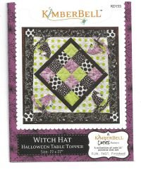 Witch Hat Table Topper from Kimberbell