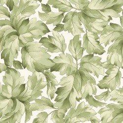 Lush Leaves (Gentle Breeze) white, Maywood