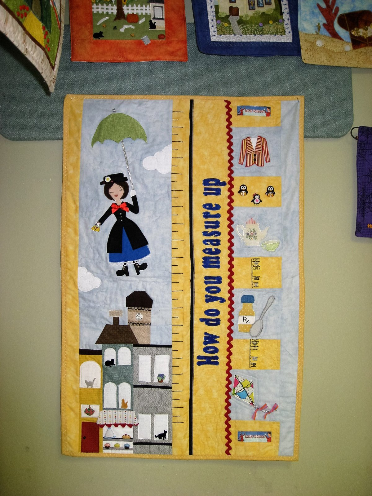 Mary Poppins Wall Hanging ADD-ON Kit