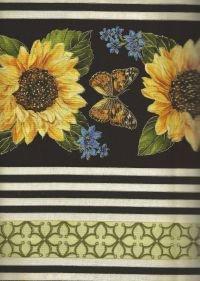 Forever Sunflowers Stripe