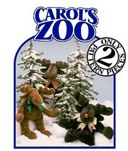 Carol's Zoo Moose Pattern