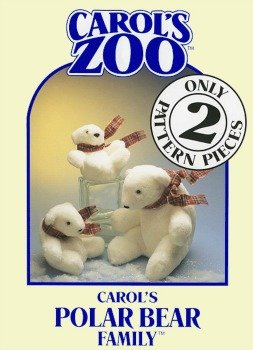 Carol's Polar Bear Family Pattern by Carol's Zoo