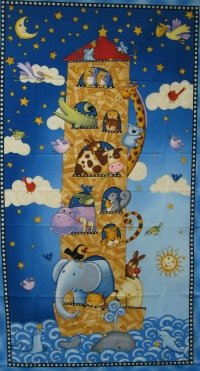 Sea of Dreams Quilt Panel by SSI