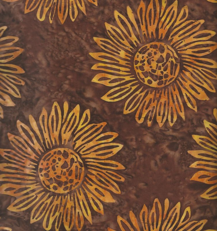 Sunflower from Batavian Batiks