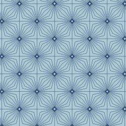Tufted Geo (Gentle Breeze) blue, Maywood