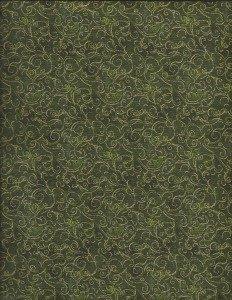 Yuletide Magic Swirls (Green)