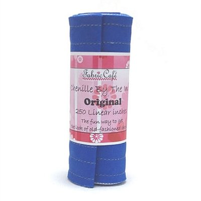 Chenille by the Inch - Blueberry/Royal Blue - 250 Linear inches