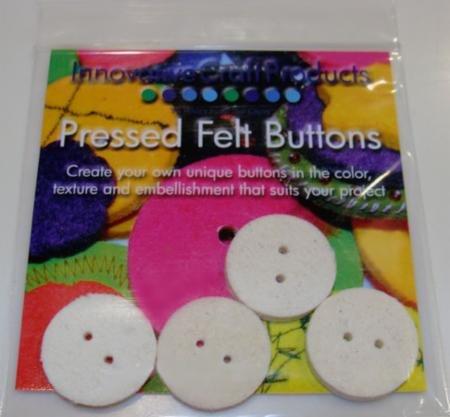 Button Felt Round 4ct 1