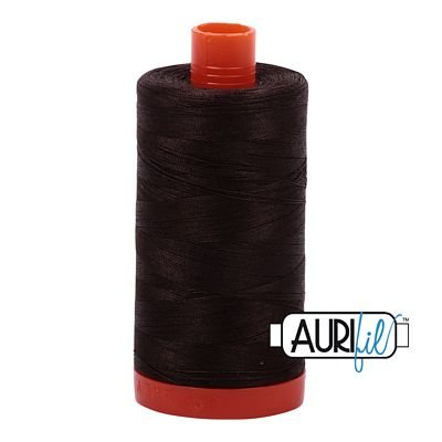 Aurifil Lrg Very Dark Bark 1130