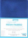 ByAnnie's Lightweight Mesh Fabric 18X54 100% Polyester-Blastoff Blue