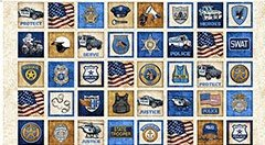 PROTECT & SERVE PATCHES NATURAL PANEL