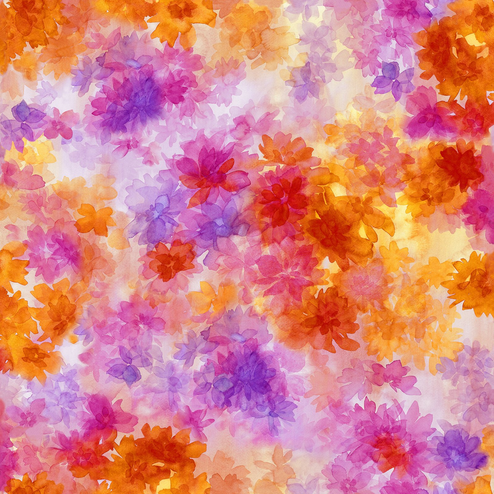 Soiree Watercolor Floral Multi