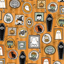 Boos & Ghouls Halloween Characters Orange