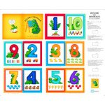DEXTER THE DINOSAUR ALL ABOUT NUMBERS - BOOK Panel