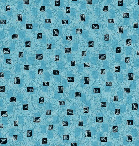 Calypso Square Geo Texture Lt Blue