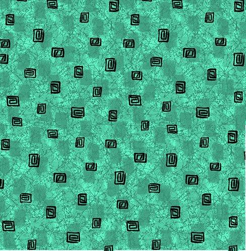 Calypso Square Geo Texture Lt Jade