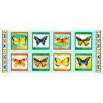 Fly Free BUTTERFLY PICTURE PATCHES PANEL MULTI