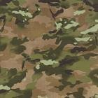 Because Of The Brave - Camo - Army Green