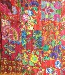Kantha - Red/Multi