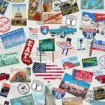 America Road Trip Collection Postcards