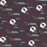 Arizona Cardinals Black 60in