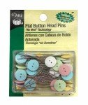 Button Flat Head Pin Size 24 - 1 1/2in 50ct